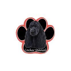 Cocker Spaniel, blackMousepad
