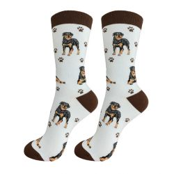 Rottweiler Happy Tails Socks