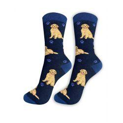 Golden Retriever Happy Tails Socks