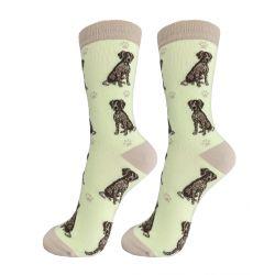 German Shorthair Pointer Happy Tails Socks