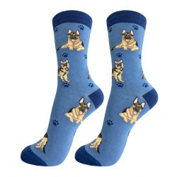 German Shepherd Happy Tails Socks