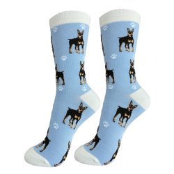 Doberman Happy Tails Socks