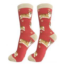 Corgi Happy Tails Socks