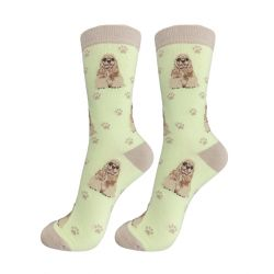 Cocker Spaniel Happy Tails Socks