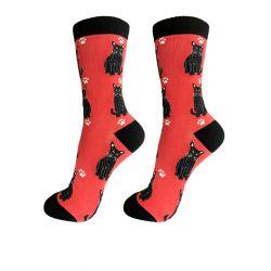 Cat, Black  Happy Tails Socks