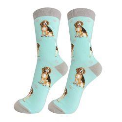 Beagle Happy Tails Socks