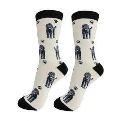 Labradoodle Black Happy Tails Socks