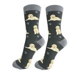 Goldendoodle, grey Happy Tails Socks
