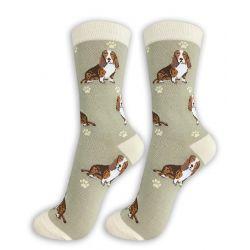 Basset Hound Happy Tails Socks