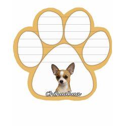 Chihuahua, tan  Magnetic NotePad