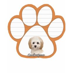 Cockapoo  Magnetic NotePad