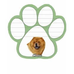Chow  Magnetic NotePad