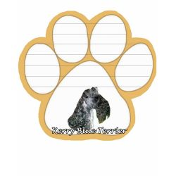 Kerry Blue Terrier Magnetic NotePad