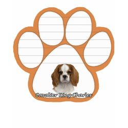 King Charles Cavalier  Magnetic NotePad