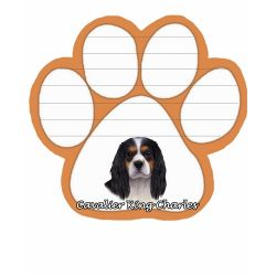 King Charles, tri-color  Magnetic NotePad