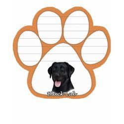 Labrador, black  Magnetic NotePad