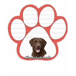 Labrador, chocolate  Magnetic NotePad