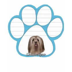 Lhasa Apso  Magnetic NotePad