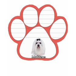 Maltese  Magnetic NotePad
