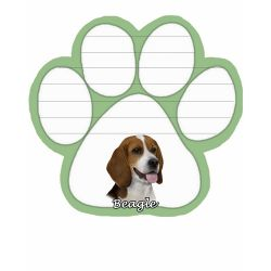 Beagle  Magnetic NotePad