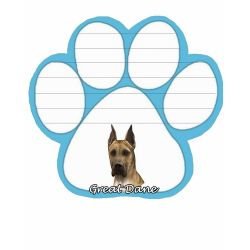 Great Dane, fawn Magnetic NotePad