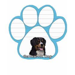 Bernese Mt. Dog  Magnetic NotePad