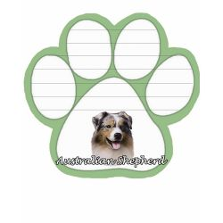Australian Shepherd  Magnetic NotePad