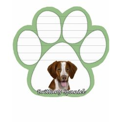 Brittany Spaniel  Magnetic NotePad