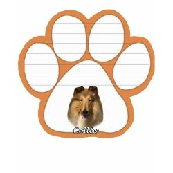 Collie  Magnetic NotePad