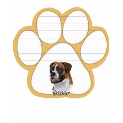 Boxer, Uncropped Magnetic NotePad