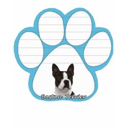 Boston Terrier  Magnetic NotePad