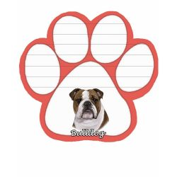 Bulldog  Magnetic NotePad