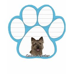 Cairn Terrier Magnetic NotePad