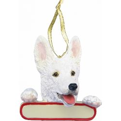 German Shepherd ornaments Santa's Pals