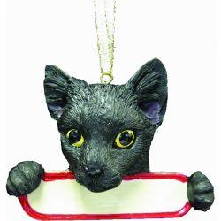 Black Cat Santa's Pals