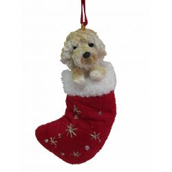 Goldendoodle Stocking Ornament
