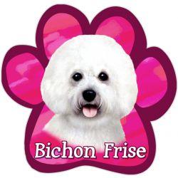 Bichon Frise Car Magnet