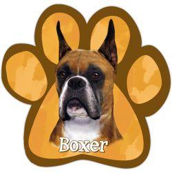 Boxer, cropped Car Magnet