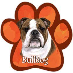 Bulldog Car Magnet