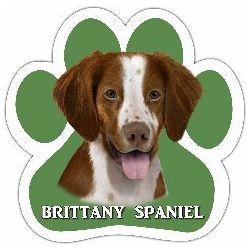 Brittany Spaniel Car Magnet