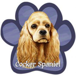 Cocker Spaniel, buff Car Magnet