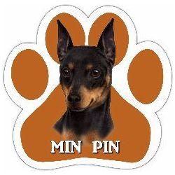 Miniature Pinscher Car Magnet