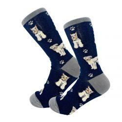 Schnauzer Happy Tails Socks