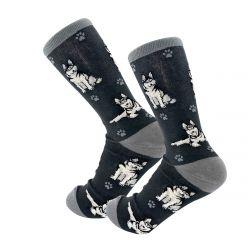 Siberian Husky Happy Tails Socks