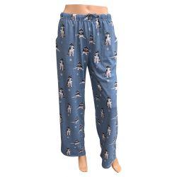 Siberian Husky pajama bottoms