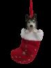 Siberian Husky Stocking Ornament