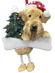 Dangling Legs Dog Ornament